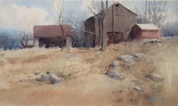 Vermont barnscape